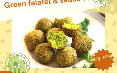 Green falafels !